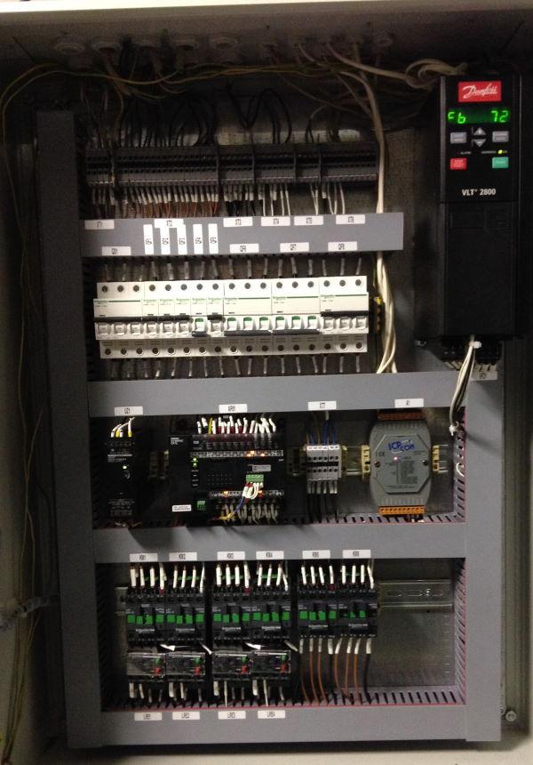 шкаф управления канализационной насосной станцией (ШУ КНС)