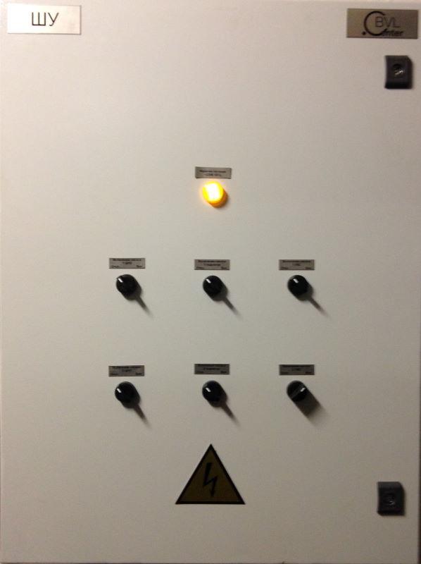 шкаф управления тепловым пунктом (ШУ ИТП)